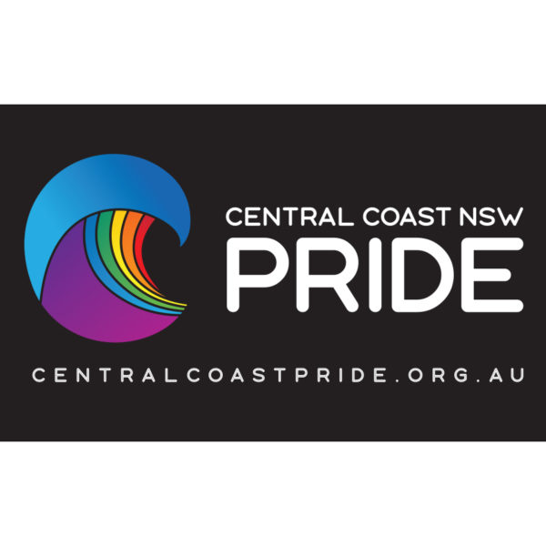 Central Coast Pride - Car Sticker, Transparent Background